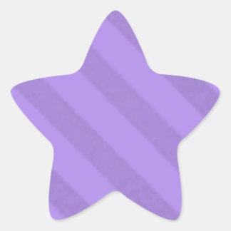 Vintage Candy Stripe Lavender Purple Grunge Stickers