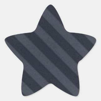 Vintage Candy Stripe Wallpaper Gray Black Grunge Sticker