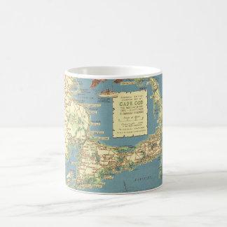 Vintage Cape Cod Map (1940) Coffee Mug