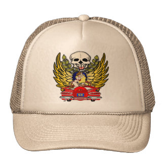 Vintage Car 50th Birthday Gifts Trucker Hat