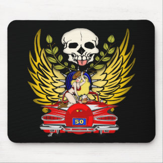 Vintage Car 50th Birthday Gifts Mouse Pads