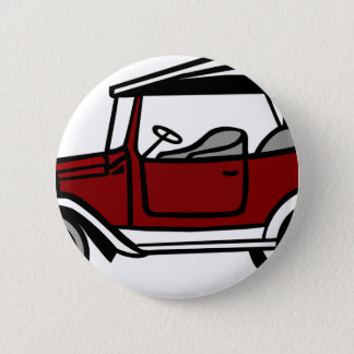 Vintage Car Automobile Old Antique Vehicle Auto 6 Cm Round Badge