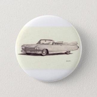 Vintage Car: Cadillac Eldorado (1959) 6 Cm Round Badge