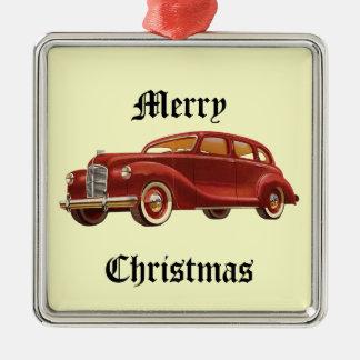 Vintage Car Christmas Tree Ornament