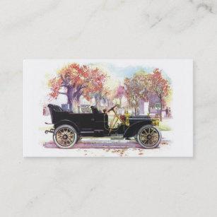 Vintage car business cards zazzle au vintage car custom business cards reheart Images