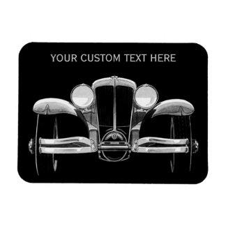 Vintage car custom magnet