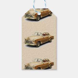 Vintage Car Gift Tags