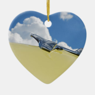 Vintage Car Hood Ornament - Heart Shaped