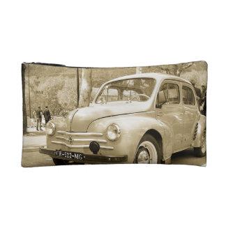 Vintage car sack cosmetics bags