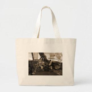 Vintage Car Jumbo Tote Bag