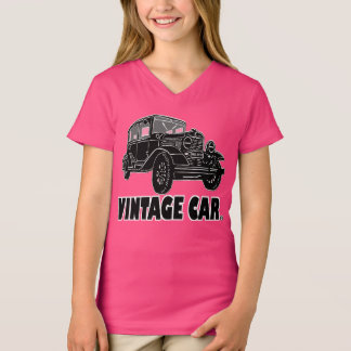 Vintage Car Transport Designer Kid Shirt Clothing