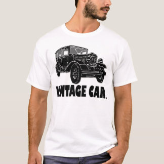 Vintage Car Transport Designer T-Shirt Clothing