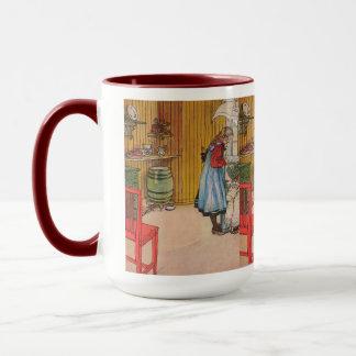 Vintage Carl Larsson The Kitchen Mug