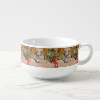 Vintage Carl Larsson The Kitchen Soup Mug