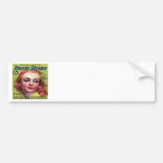 Vintage Carole Lombard Movie Stories Mag Bumper Stickers