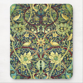 Vintage Carpet Pattern Mouse Pad