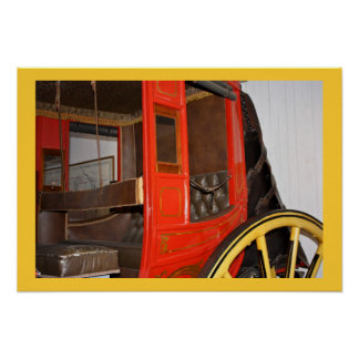 vintage carriage poster