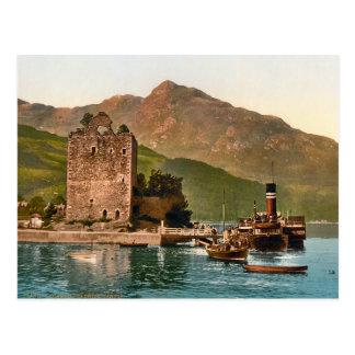 Vintage Carrick Castle Scotland Postcard