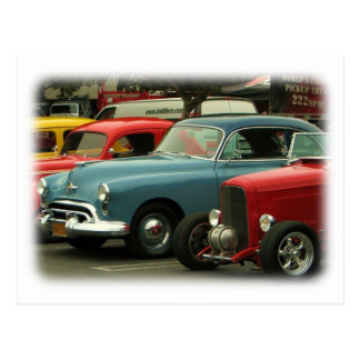 Vintage Cars Postcard!