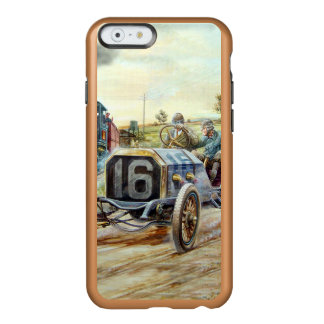 Vintage Cars Racing Scene,train painting Incipio Feather® Shine iPhone 6 Case