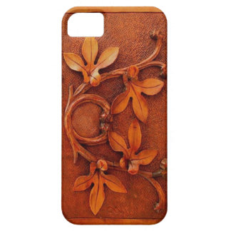vintage carved wood iphone 5 case