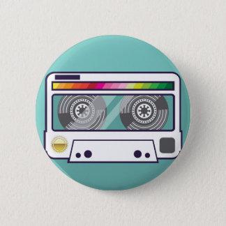 Vintage Cassette 6 Cm Round Badge