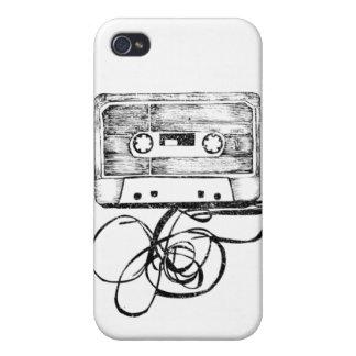 Vintage cassette iPhone 4 case