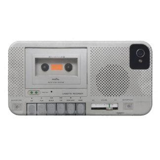 Vintage Cassette Recorder iPhone 4 Case
