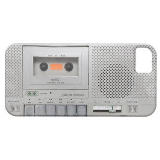 Vintage Cassette Recorder iPhone 5 Cases