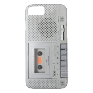 Vintage Cassette Recorder iPhone 7 Case