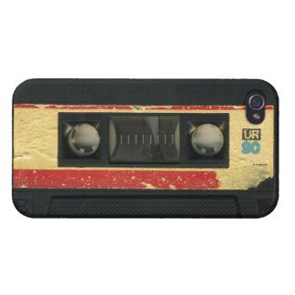 Vintage Cassette Tape iPhone Case Cover For iPhone 4