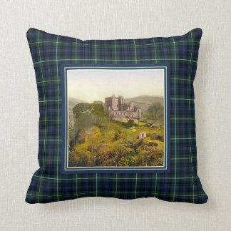 Vintage Castle Campbell of Argyll Tartan Cushion