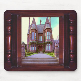 Vintage Castle in its glory awesome architecture Mousepads