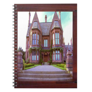 Vintage Castle in its glory awesome architecture Spiral Notebook