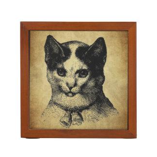 vintage cat ink stamps Pencil/Pen holder
