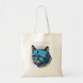 Vintage Cat Kitten Rare Blue Haired Tabby