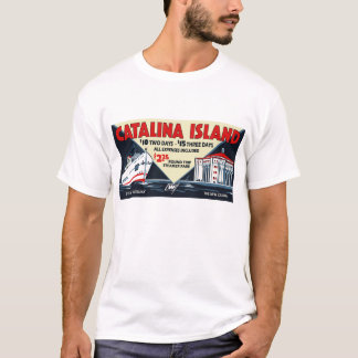 Vintage Catalina Island Steamship and Casino Tee