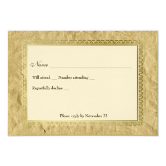 Vintage Catholic Cross rsvp Card