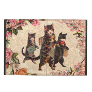 Vintage Cats Pretty Antique Kitty Case For iPad Air