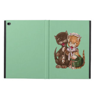 Vintage Cats Rat Gift Basket Powis iPad Air 2 Case