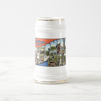 Vintage Catskill Mountains Postcard Mugs, Steins Beer Steins