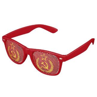 Vintage CCCP flag Retro Sunglasses