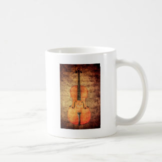 Vintage Cello Coffee Mug