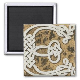 Vintage Celtic Design Refrigerator Magnet