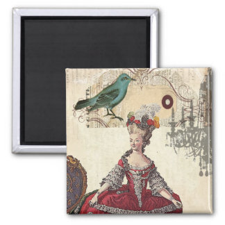 Vintage Chandelier french queen  Marie Antoinette Magnet