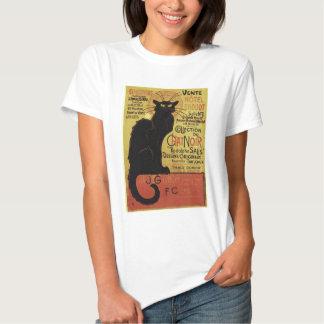 Vintage Chat Noir, Vente Hôtel Drouot Steinlen T-shirts