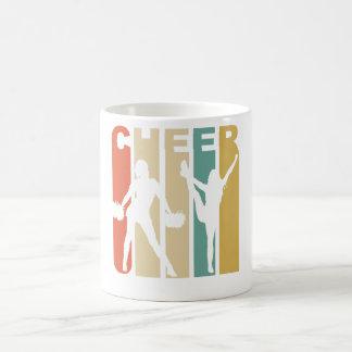 Vintage Cheer Cheerleading Graphic Coffee Mug