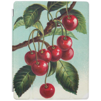 Vintage Cherries on a branch iPad 2/3/4 Cover iPad Cover