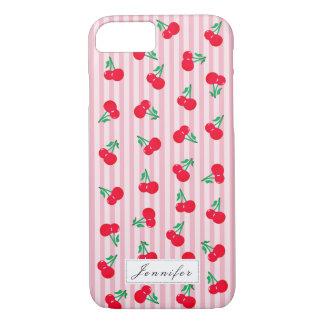 Vintage Cherries Pattern iPhone 8/7 Case