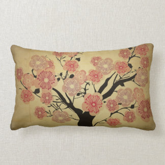 Vintage cherry blossom tree American MoJo Pillow